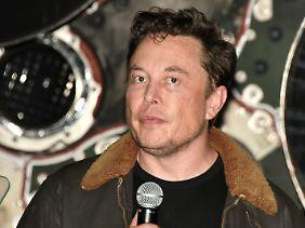 Umtriebiger Visionär: US-Milliardär Elon Musk leitet neben Tesla unter anderem auch den erfolgreichen Raketenbauer Space X.