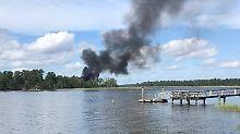 Pilot per Schleudersitz gerettet: Kampfjet F-35B stürzt in den USA ab