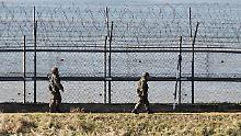 Sprengfallen im Grenzgebiet: Nord- und Südkorea räumen Landminen