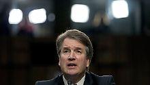 Über den Richterkandidaten Brett Michael Kavanaugh diskutieren die US-Amerikaner derzeit heftig.