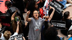 Schumer und Ratajkowski verhaftet: Tausende demonstrieren gegen Kavanaugh