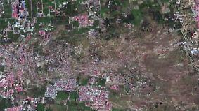 Video zeigt Katastrophe in Indonesien: Boden verwandelt sich nach Erdbeben in flüssigen Brei