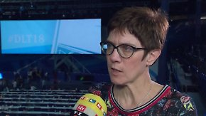 """Kramp-Karrenbauer im n-tv Interview: """"Haben nicht unsere beste Performance geliefert"""""""