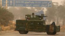 In der syrischen Provinz Idlib haben die Rebellen offenbar ihre schweren Waffen aus einer vereinbarten Pufferzone abgezogen.