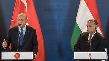 Erdogan auf Staatsbesuch: Orban wirbt für enge Partnerschaft mit Türkei