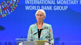 Weltwirtschaft wächst langsamer: Lagarde warnt vor Schock aus Schwellenländern