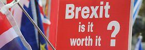 """Milliardenkosten durch Zölle: Wirtschaft warnt vor Brexit-""""Desaster"""""""