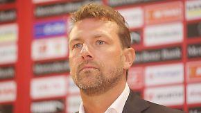 """Stuttgart im Tabellenkeller: Neuer VfB-Trainer Weinzierl will """"sehr mutig vorgehen"""""""