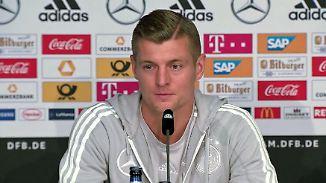 """Holter erlebt angriffslustigen Kroos: """"Drei WM-Spiele ändern mein Selbstverständnis nicht"""""""
