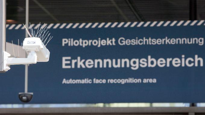 Am Berliner Bahnhof Südkreuz läuft das Pilotprojekt zur Gesichtserkennung.