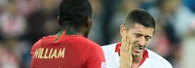 Spieltag drei in Nations League: Lewandowski schwächelt im Jubiläumsspiel