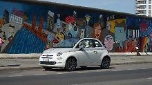 Der wohl charmanteste Itailener auf deutschen Straßen: Fiat 500.