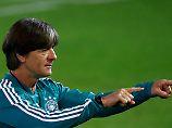 """""""Ich habe schon gesagt, dass der Einbau von jungen Spielern auch ein Prozess ist"""": Joachim Löw."""