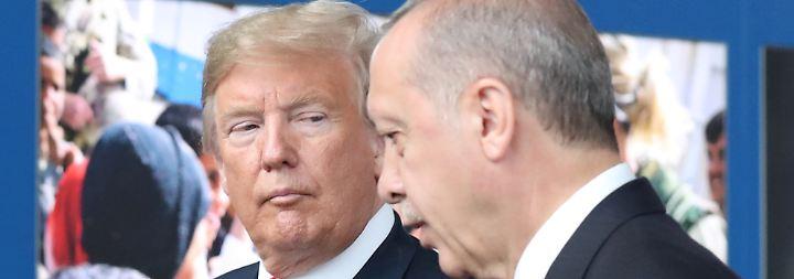 Donald Trump und Recep Erdogan haben einen gemeinsamen Sündenbock ausgemacht: ihre Zentralbanken.