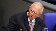 """Union steht vor Erschütterungen: Schäuble: """"Merkel nicht mehr unbestritten"""""""