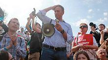 Alexej Nawalny lehnt auch Putins Rentenreform ab.