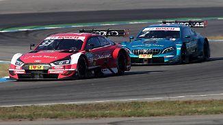 Dreikampf um den Titel: DTM entscheidet sich erst im letzten Rennen