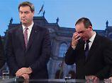 Pleite für Söder und Seehofer: Gerupfte CSU beginnt mit der Partnersuche