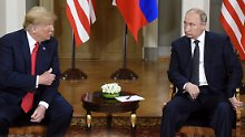 """Einmischung """"wahrscheinlich"""": Trump: Putin wohl in Attentate verstrickt"""