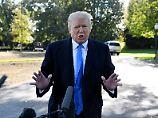 """""""Irgendetwas ändert sich"""": Trump überdenkt seine Haltung zum Klimawandel"""