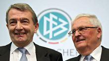 Hinreichender Tatverdacht fehlt: Gericht: Kein Verfahren gegen Ex-DFB-Bosse