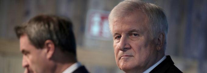 Will nicht gehen: Horst Seehofer