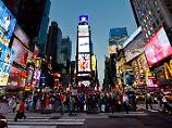 Das erste seit 25 Jahren: Wochenende ohne Schießerei in New York