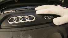 Gewinnwarnung bei Volkswagen: Audi muss hohes Bußgeld zahlen