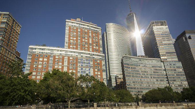 Der Finanzbezirk am Hudson River in New York. Hier hat Goldman Sachs seinen Stammsitz.
