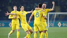 Doppelte Nations-League-Euphorie: Ukraine feiert Aufstieg, Ekstase in Gibraltar