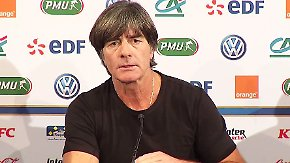 """Joachim Löw zur Niederlage in Paris: """"Wir waren auf Augenhöhe mit der besten Mannschaft der Welt"""""""