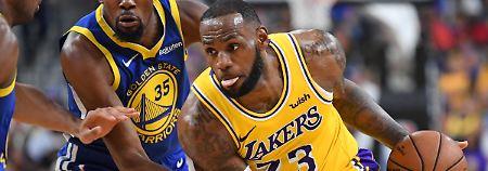 """LeBron lässt die Lakers träumen: James sucht Happy End im """"La La Land"""""""