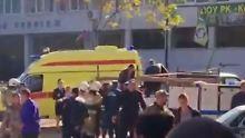 Amoklauf auf der Krim: Attentäter erschießt etliche Schüler