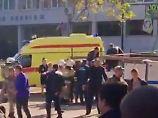Vorfall auf der Krim: Explosion in Schule tötet mehrere Menschen