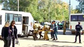 Explosion und Schüsse auf der Krim: Attentäter richtet Blutbad in Berufsschule an