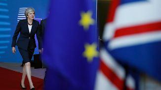 Brexit-Gipfel der Ungewissheit: May hat nicht viel Neues im Gepäck