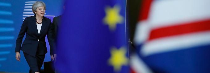 Irlandfrage weiter strittig: May: Austritt aus EU zu 95 Prozent geklärt