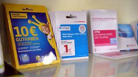 Alternative zu teuren Handy-Verträgen?: Tester nehmen Prepaid-Tarife unter die Lupe