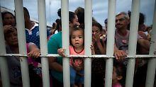 Migranten strömen nach Mexiko: Trump hält Flüchtlinge für Kriminelle