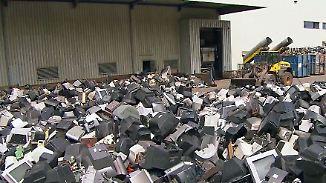 Deutschland ist Elektroschrott-Weltmeister: Ehrenamtliche bekämpfen die Wegwerf-Gesellschaft