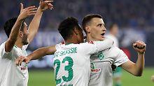 Schalke schlagen, Dortmund jagen: Werder Bremen befeuert die Europa-Träume