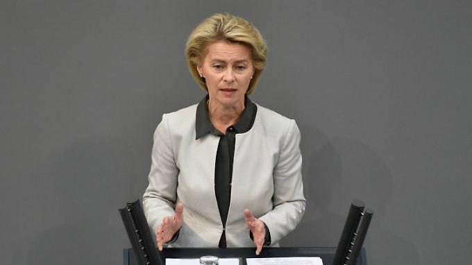 Laut einem Sprecher war die Mail nicht mit der Verteidigungsministerin abgestimmt.