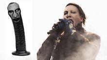 Masturbation mit Schock-Rocker: Marilyn Manson präsentiert seinen Dildo