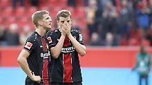 """Die Bender-Zwillinge stehen mit Leverkusen vor einer """"schwierigen Saison""""."""