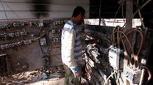 Die Energieinfrastruktur des Irak ist nach Jahren des Krieges desolat.