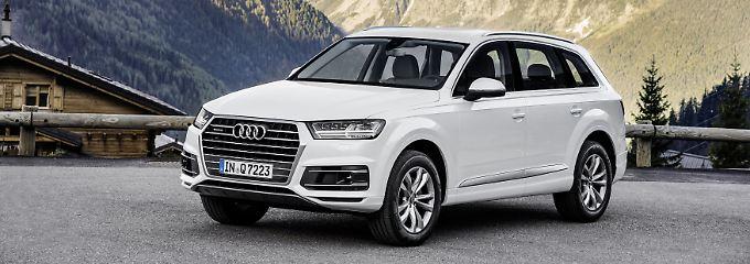 Am häufigsten wird in Deutschland der Audi Q7 gestohlen.