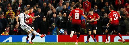 City dominant, Real siegreich: Ronaldo und Juve erobern Manchester