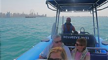 n-tv Spezial Dubai: Im Rib-Boat um die Palm Jumeirah