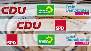"""""""Zu viel gelabert, zu wenig gemacht"""": Hessen drohen verzwickte Mehrheiten"""