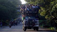 Chance auf ein neues Zuhause: Mexiko bietet Migranten-Karawane Asyl-Chance